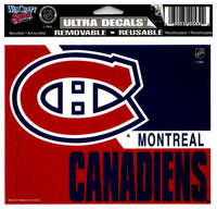 (HCW) Montreal Canadiens 2Tone Multi-Use Coloured Decal Sticker 5