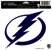(HCW) Tampa Bay Lightning Multi-Use Coloured Decal Sticker 5