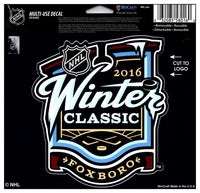 (HCW) 2016 Winter Classic Multi-Use Coloured Decal Sticker 5