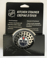 (HCW) Edmonton Oilers Stainless Steel Kitchen Sink NHL Strainer