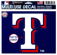 (HCW) Texas Rangers Multi-Use Decal Sticker MLB 5