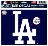 "(HCW) Los Angeles Dodgers Multi-Use Decal Sticker MLB 5""x6"" Baseball"