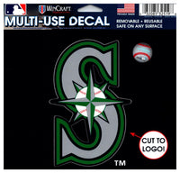 (HCW) Seattle Mariners Multi-Use Decal Sticker MLB 5