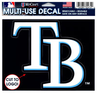 (HCW) Tampa Bay Rays Multi-Use Decal Sticker MLB 5