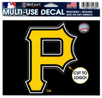 (HCW) Pittsburgh Pirates Multi-Use Decal Sticker MLB 5