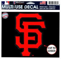 (HCW) San Francisco Giants Multi-Use Decal Sticker MLB 5