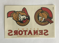 (HCW) Ottawa Senators #2 Banner Coloured Tattoo Sticker 4