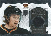 (HCW) 2013-14 Crown Royale Sami Vatanen Heirs to the Throne Jersey Hockey 03020