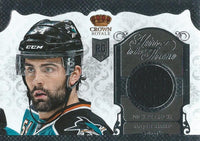 (HCW) 2013-14 Crown Royale Nick Petrecki Heirs to the Throne Jersey Hockey 03024