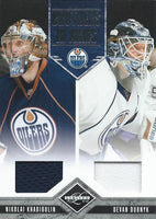 2011-12 Panini Limited Brothers In Arms Jersey Dubnyk/ Khabibulin 11/199 03034