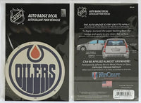 (HCW) Edmonton Oilers Auto Badge Car Decal 4