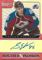 2013-14 Select Youth Explosion Autographs Prizms 19/25 Stefan Elliott 02998