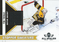 (HCW) 2010-11 Panini All Goalies Stopper Sweaters Jersey #4 Tim Thomas 03039
