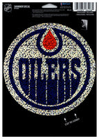 (HCW) Edmonton Oilers Shimmer Decal 5