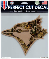 (HCW) Toronto Blue Jays (Camo) Perfect Cut Colour 8x8 Large Decal Sticker MLB