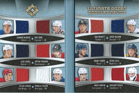 (HCW) 2015-16 Ultimate Collection Ultimate Dozen Relic Booklets 31/40 McDavid, Eichel, Domi
