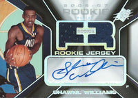 2006-07 Upper Deck SPx #135 Shawne Williams Basketball  RC Rookie 938/1199 03055