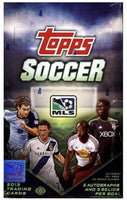 2013 Topps MLS Major League Soccer Hobby Box - 2 Autos/3 Relics Box