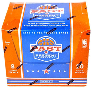 2011-12 Panini Past and Present Basketball Hobby Box - Autos Jerseys