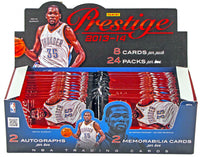 2013-14 Panini Prestige Hobby Pack - 8 Cards Per Pack - Auto Jersey Cards