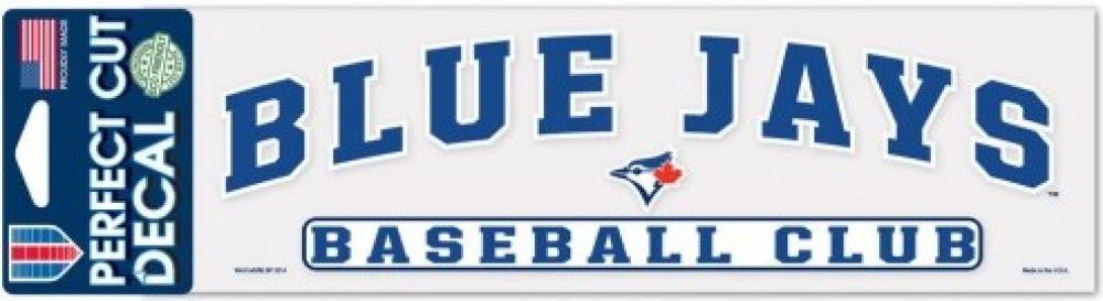 Toronto Blue Jays Perfect Cut Colour 3x10 Licensed Decal Sheet