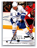 2008-09 Upper Deck #15 Pavel Kubina Maple Leafs