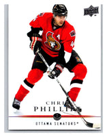 2008-09 Upper Deck #63 Chris Phillips Senators
