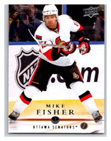 2008-09 Upper Deck #64 Mike Fisher Senators