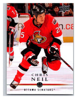 2008-09 Upper Deck #68 Chris Neil Senators