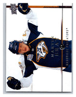2008-09 Upper Deck #88 Martin Erat Predators