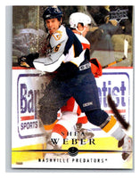 2008-09 Upper Deck #89 Shea Weber Predators