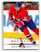 2008-09 Upper Deck #92 Francis Bouillon Canadiens