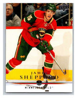 2008-09 Upper Deck #103 James Sheppard Wild