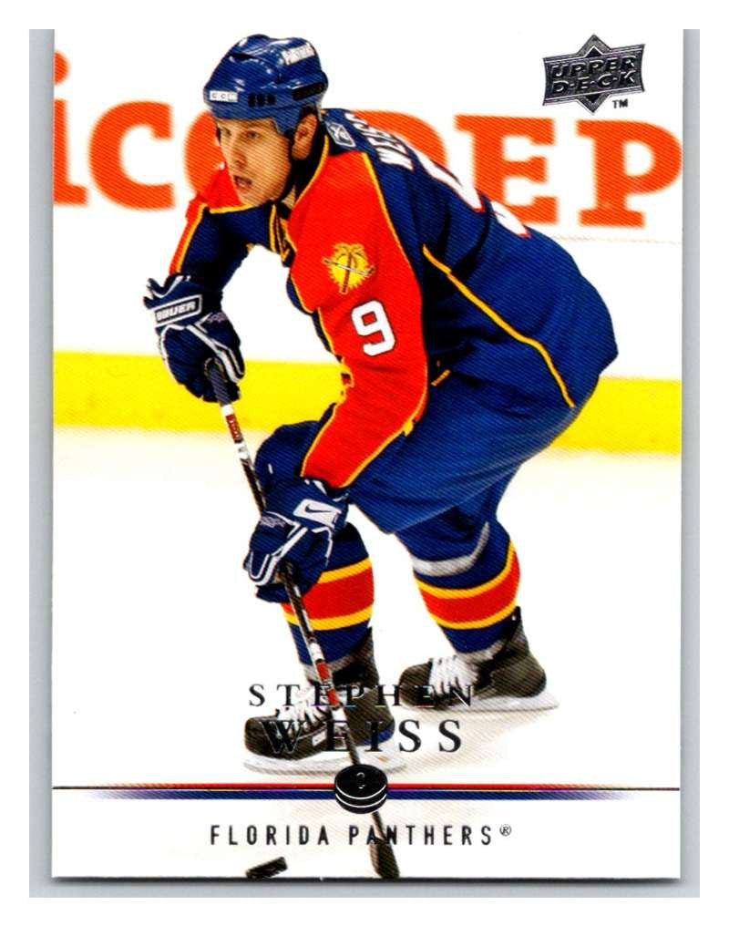2008-09 Upper Deck #113 Stephen Weiss Panthers