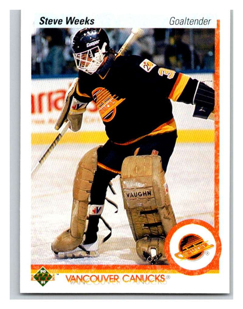 1990-91 Upper Deck #107 Steve Weeks Mint