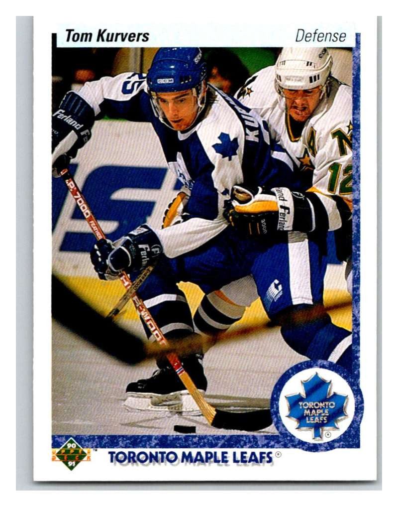 1990-91 Upper Deck #160 Tom Kurvers Mint