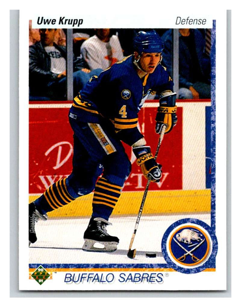 1990-91 Upper Deck #187 Uwe Krupp Mint