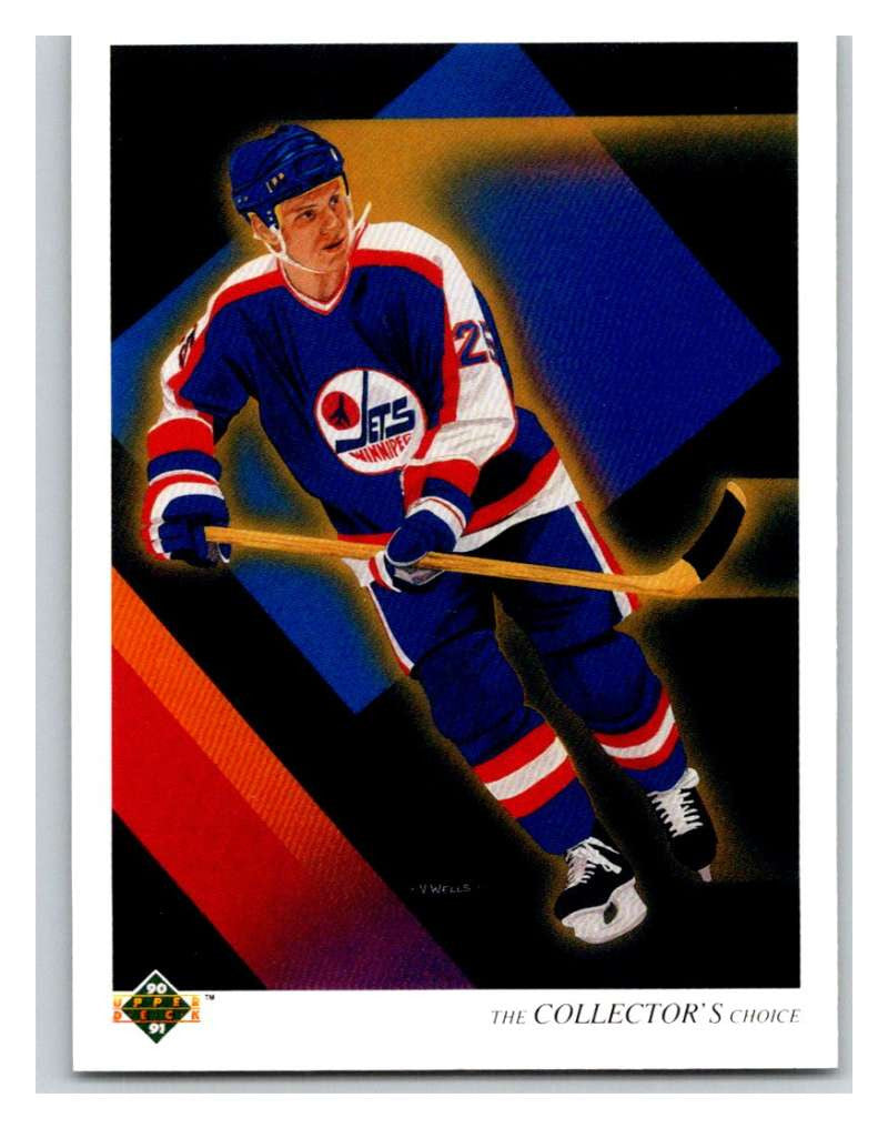 1990-91 Upper Deck #313 Thomas Steen TC Mint
