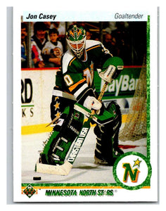 1990-91 Upper Deck #385 Jon Casey Mint