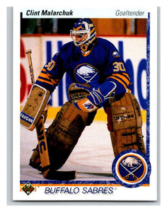 1990-91 Upper Deck #399 Clint Malarchuk Mint
