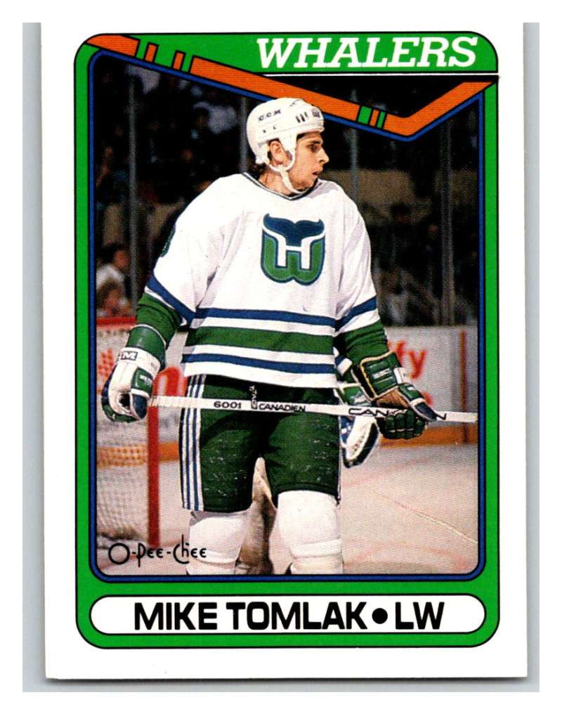 1990-91 O-Pee-Chee #95 Mike Tomlak Mint