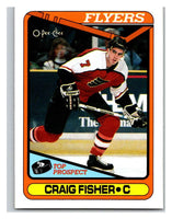 1990-91 O-Pee-Chee #126 Craig Fisher Mint