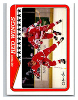 1990-91 O-Pee-Chee #133 Red Wings Team Mint