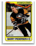 1990-91 O-Pee-Chee #134 Barry Pederson Mint