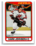 1990-91 O-Pee-Chee #178 Mark Johnson Mint