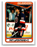 1990-91 O-Pee-Chee #184 Pat LaFontaine Mint