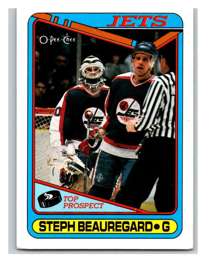 1990-91 O-Pee-Chee #223 Steph Beauregard Mint RC Rookie