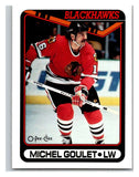 1990-91 O-Pee-Chee #329 Michel Goulet Mint