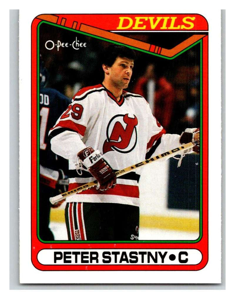 1990-91 O-Pee-Chee #334 Peter Stastny Mint