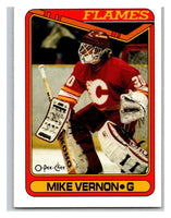 1990-91 O-Pee-Chee #351 Mike Vernon Mint